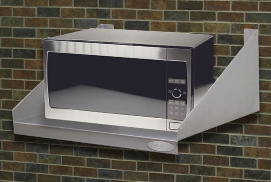Countertop Microwave Rack : Microwave Shelf 24 x 24 Stainless Steel NSF Wholesale Commercial ...
